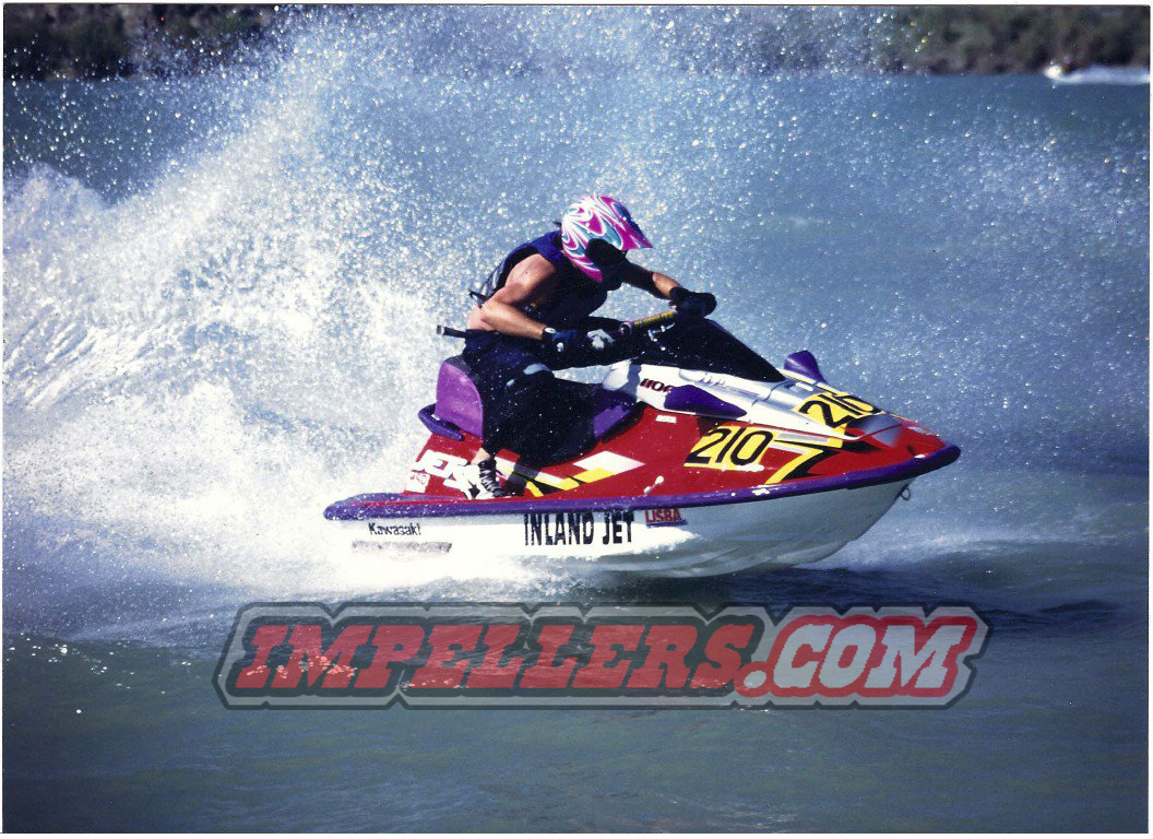 Vintage Jet Ski Picture Race Champion