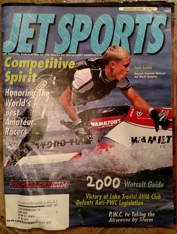 April/March 2000 Jetsports magazine jet ski Impeller jetski solas impellers seadoo prop sea doo pwc yamaha racing